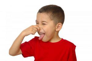 بوی بد دهان کودکان